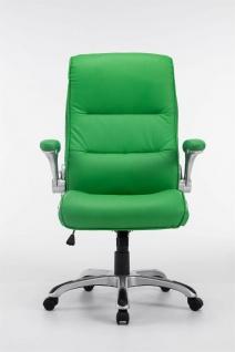 XL Chefsessel 150 kg belastbar grün Kunstleder Bürostuhl große schwere Personen - Vorschau 2