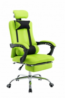 Chefsessel 115 kg belastbar grün Drehstuhl Computerstuhl Schreibtischstuhl NEU
