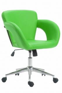 Bürostuhl grün 136 kg belastbar Kunstleder Drehstuhl modern design stylisch