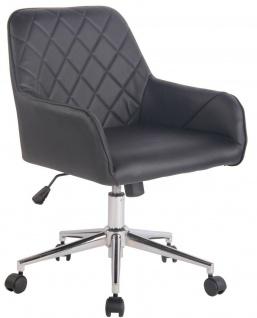 Bürostuhl Chefsessel schwarz Drehstuhl Schreibtischstuhl modern design Hocker