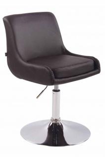 2 x Esszimmerstühle braun Kunstleder Stuhlset Küche drehbar design modern neu
