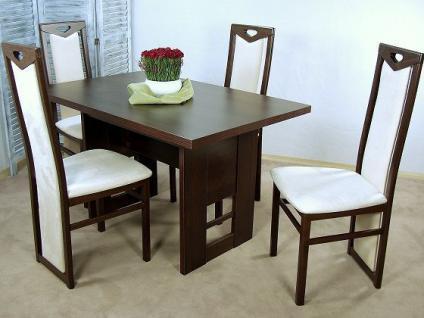 Esstisch nussbaum dunkel  Tisch Esstisch Nussbaum online bestellen bei Yatego