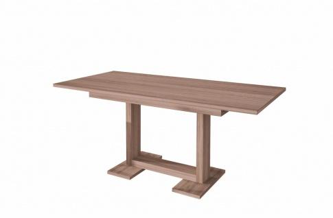 moderner Esstisch Wildeiche ausziehbar Auszugtisch Küchentisch design günstig