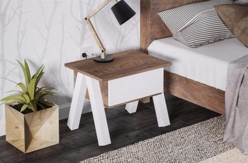 nachttisch nussbaum online bestellen bei yatego. Black Bedroom Furniture Sets. Home Design Ideas