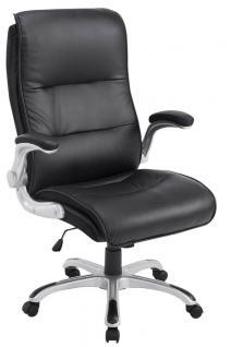 XXL Bürostuhl 150 kg schwarz Kunstleder Chefsessel modern design hochwertig