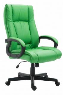 XL Chefsessel 140 kg belastbar grün Bürostuhl Drehstuhl robust stabil günstig