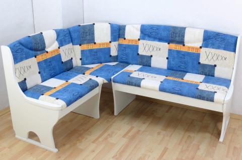 eckbank blau g nstig sicher kaufen bei yatego. Black Bedroom Furniture Sets. Home Design Ideas