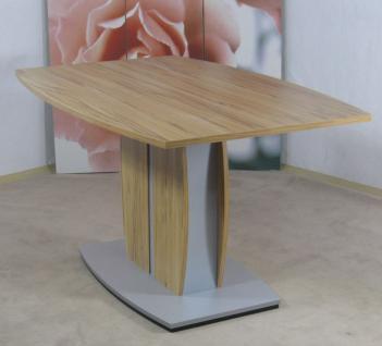 moderner Esstisch Buche natur Esszimmertisch Säulentisch Küchentisch design neu