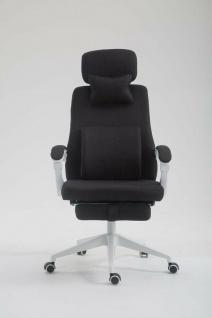 Drehstuhl schwarz 136 kg belastbar Chefsessel Schreibtischstuhl modern design