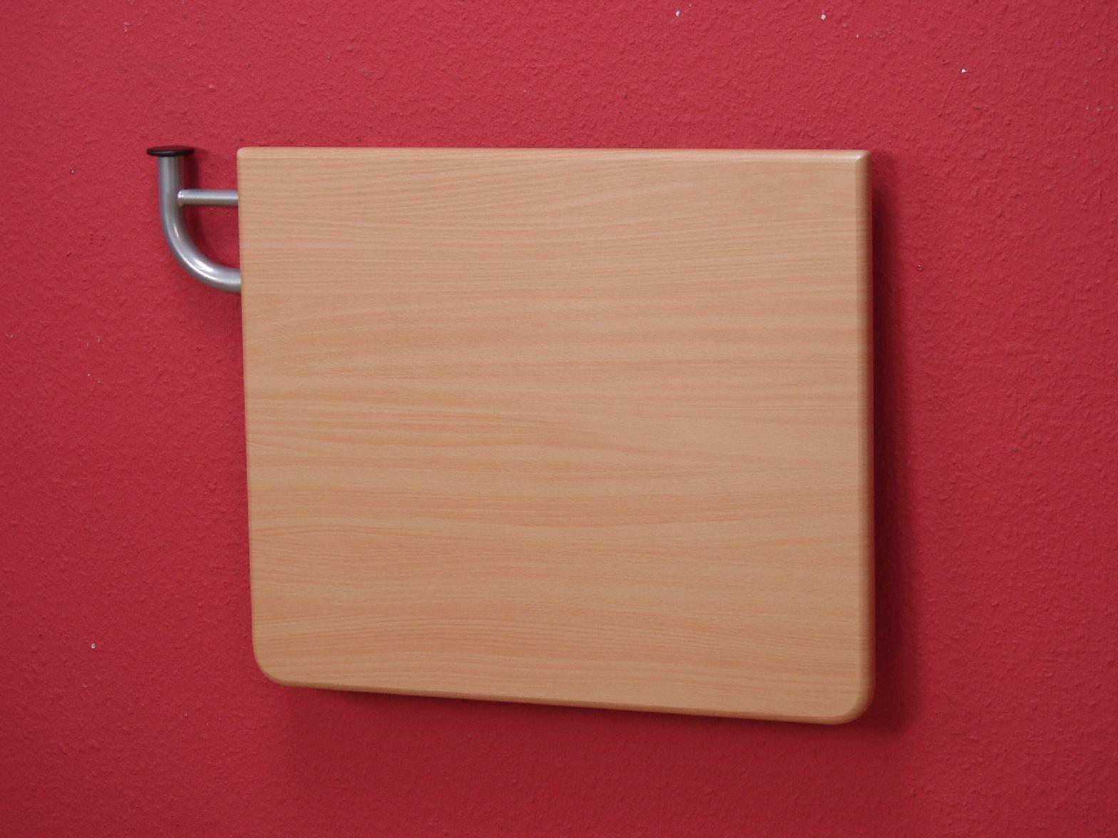 Wandtisch klappbar  Wandtisch abklappbar Buche Telefontisch Tisch Platte Wand ...