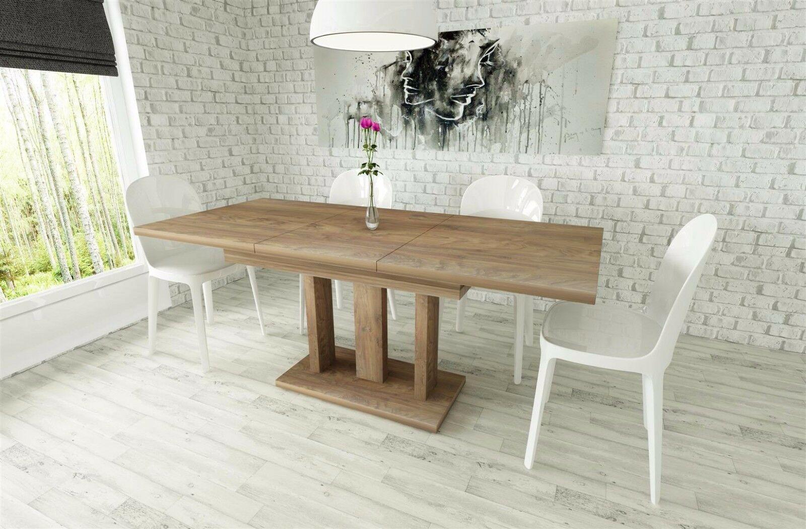 sulentisch ausziehbar good sulentisch esstisch hochglanz weiss ausziehbar with sulentisch. Black Bedroom Furniture Sets. Home Design Ideas