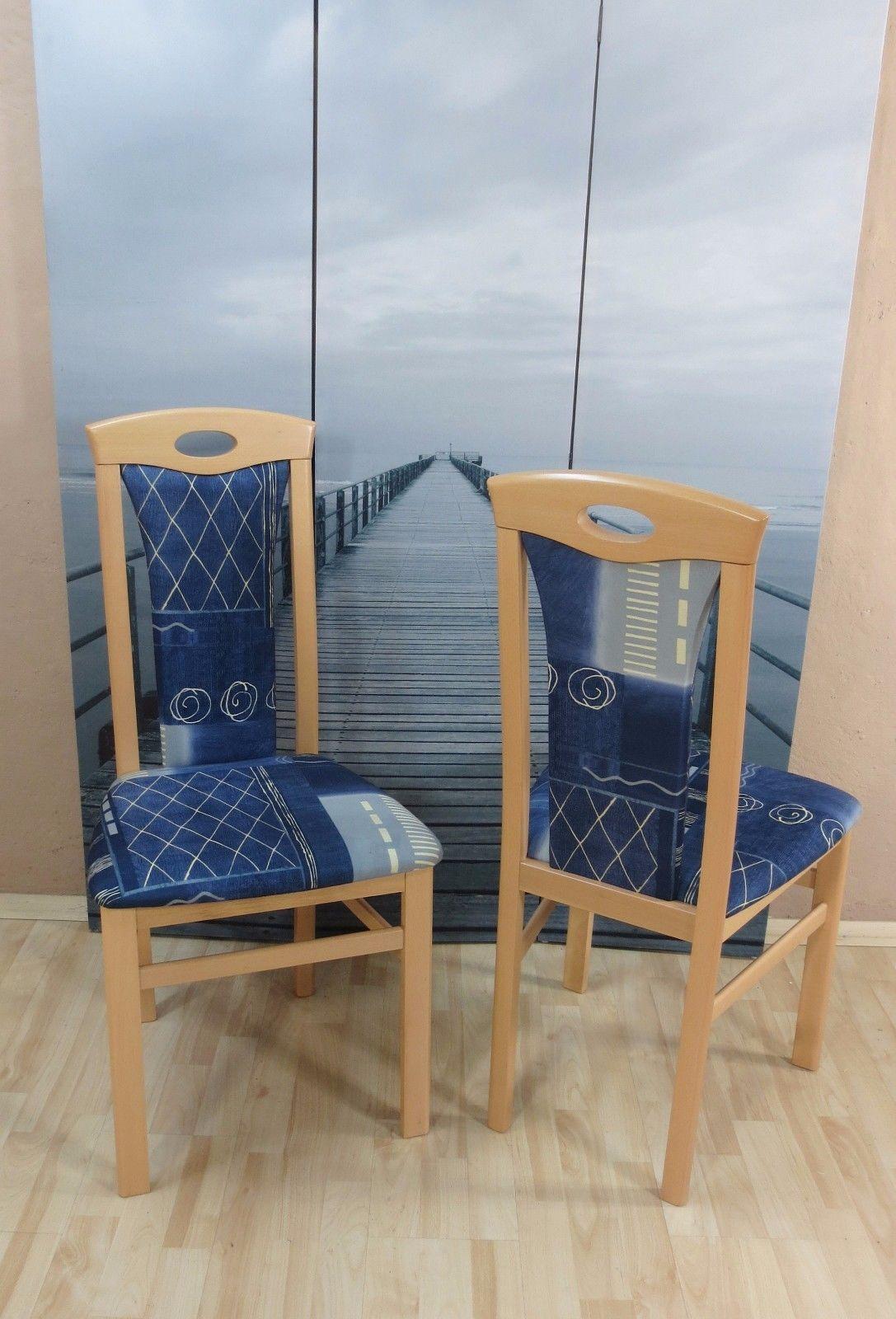 Sthle buche blau excellent x retro blau sthle polster stuhl set stuhlgruppe kchensthle with - Liegestuhle ikea ...