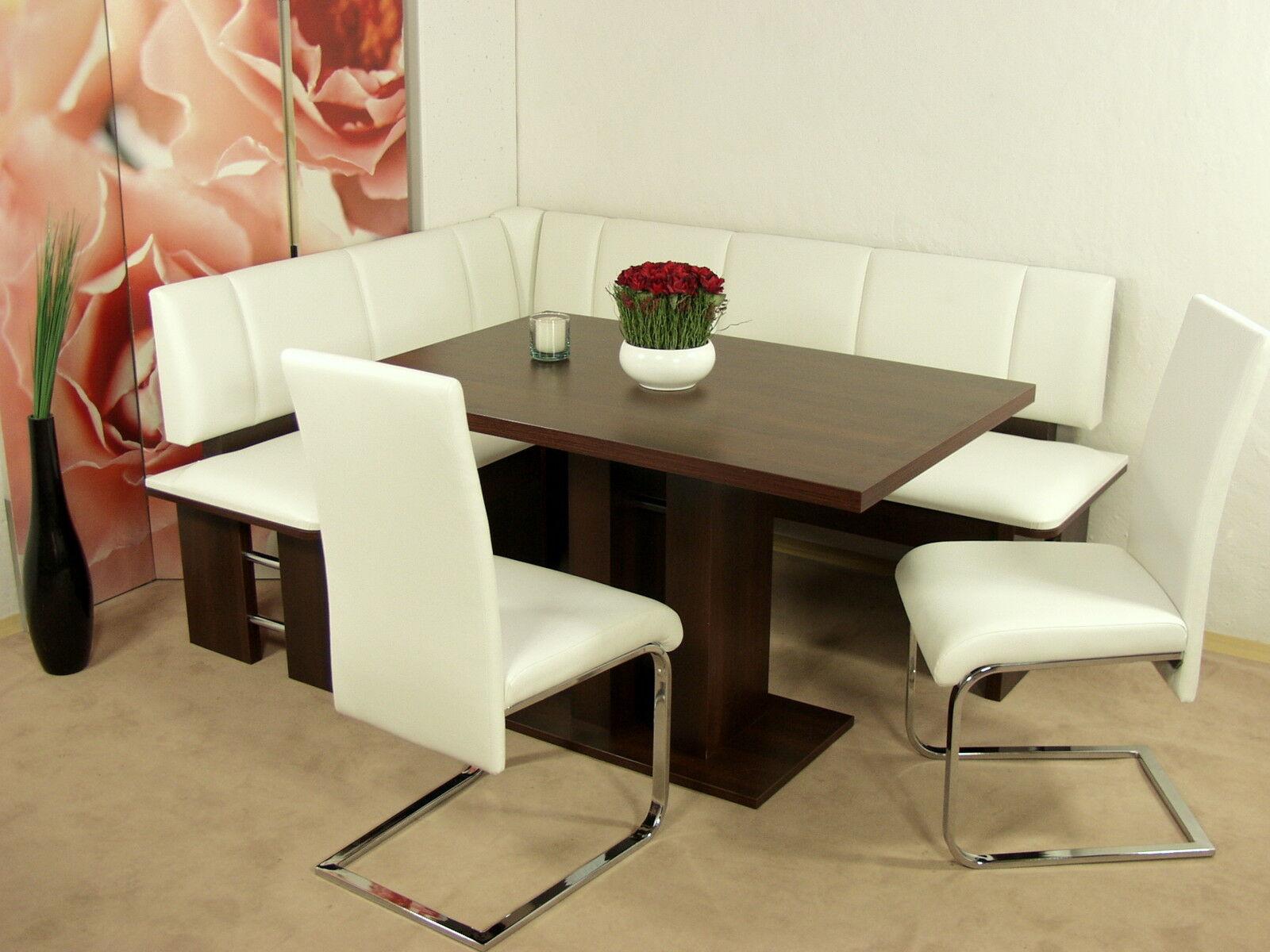 Attraktiv Moderne Eckbank Galerie Von Eckbankgruppe Nußbaum Stühle Tisch Dinninggruppe Design Neu
