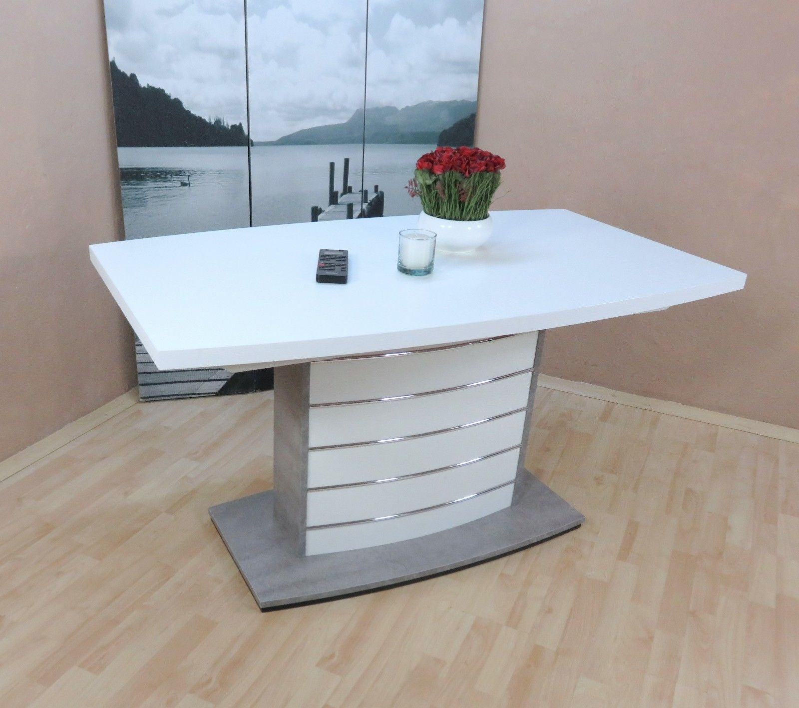 Esstisch 140x80 Wei. Cool Full Size Of Ideenstone Tisch Beton Optik ...