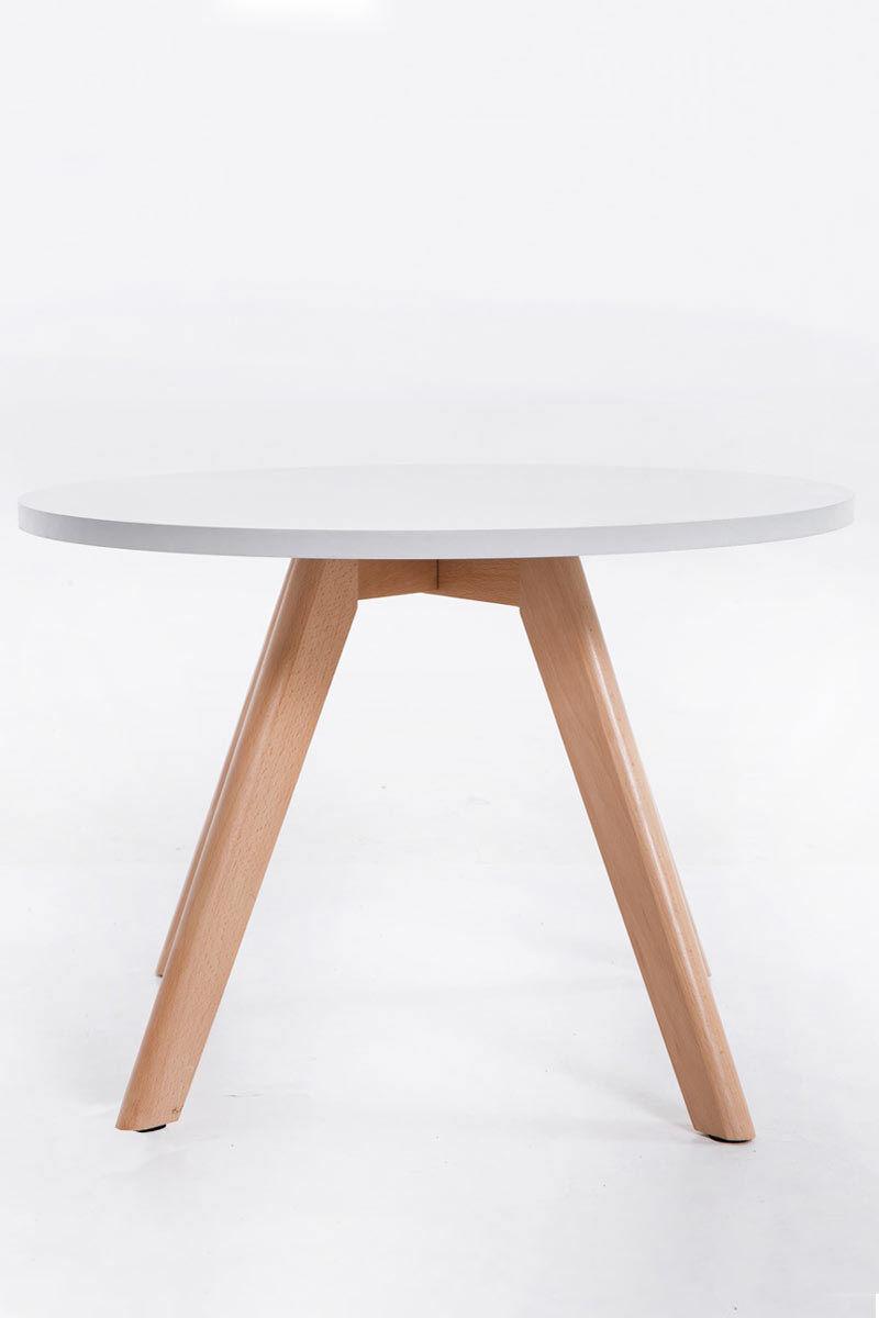Couchtisch weiß rund Wohnzimmertisch moderner Beistelltisch design ...