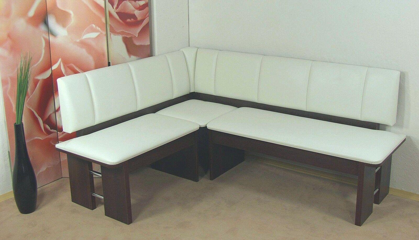 Moderne Eckbank Nussbaum Sitzecke Esszimmer Kuche Melamin Design