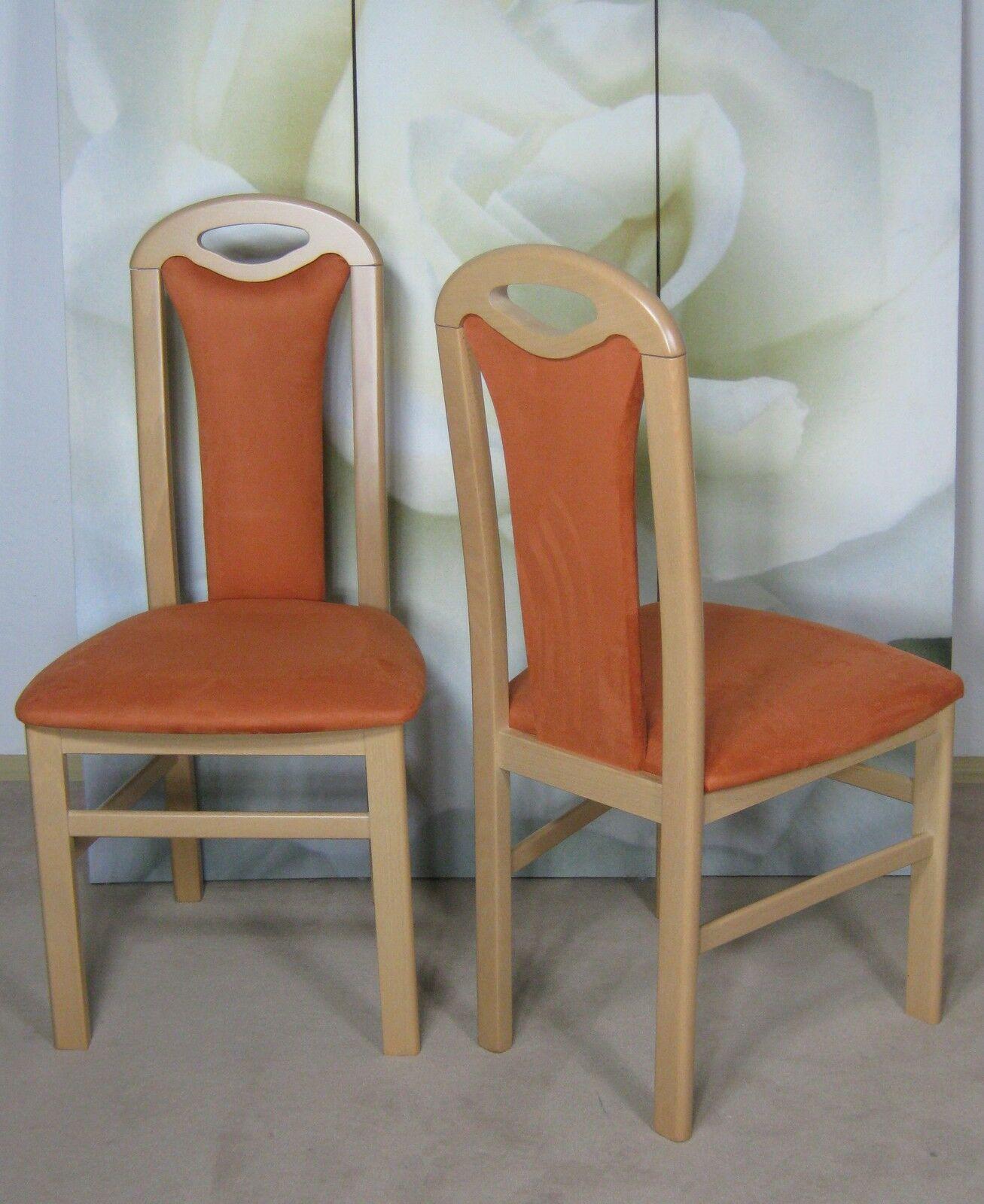 Faszinierend Esszimmerstühle Buche Gepolstert Sammlung Von 2 X Stuhl Esszimmer 2er Set Massiv