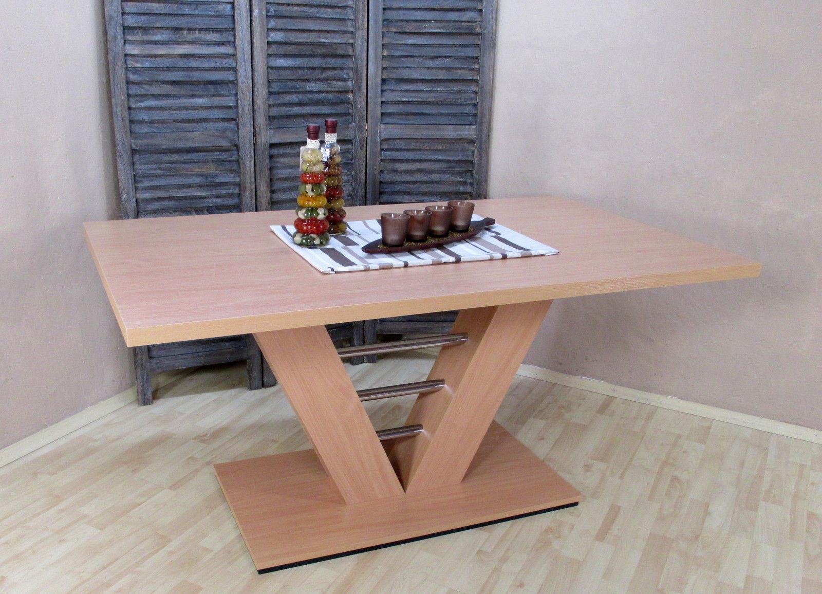 Bezaubernd Esszimmertisch Buche Referenz Von Säulentisch Natur 160x90x75 Esstisch Holztisch Küchentisch