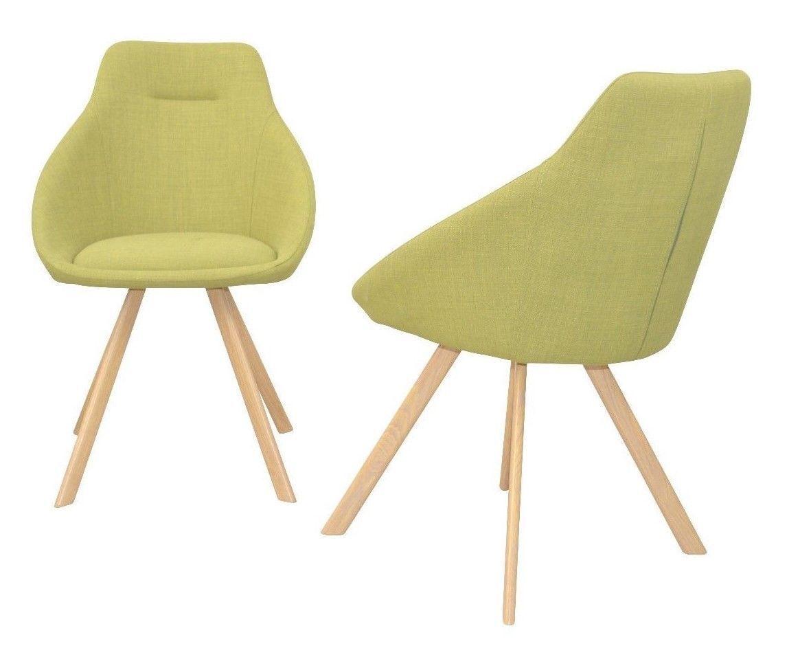 Bezaubernd Esszimmerstühle Grün Beste Wahl 2 X Esszimmerstühle Grün Stoffbezug Stuhlset Sitzschale