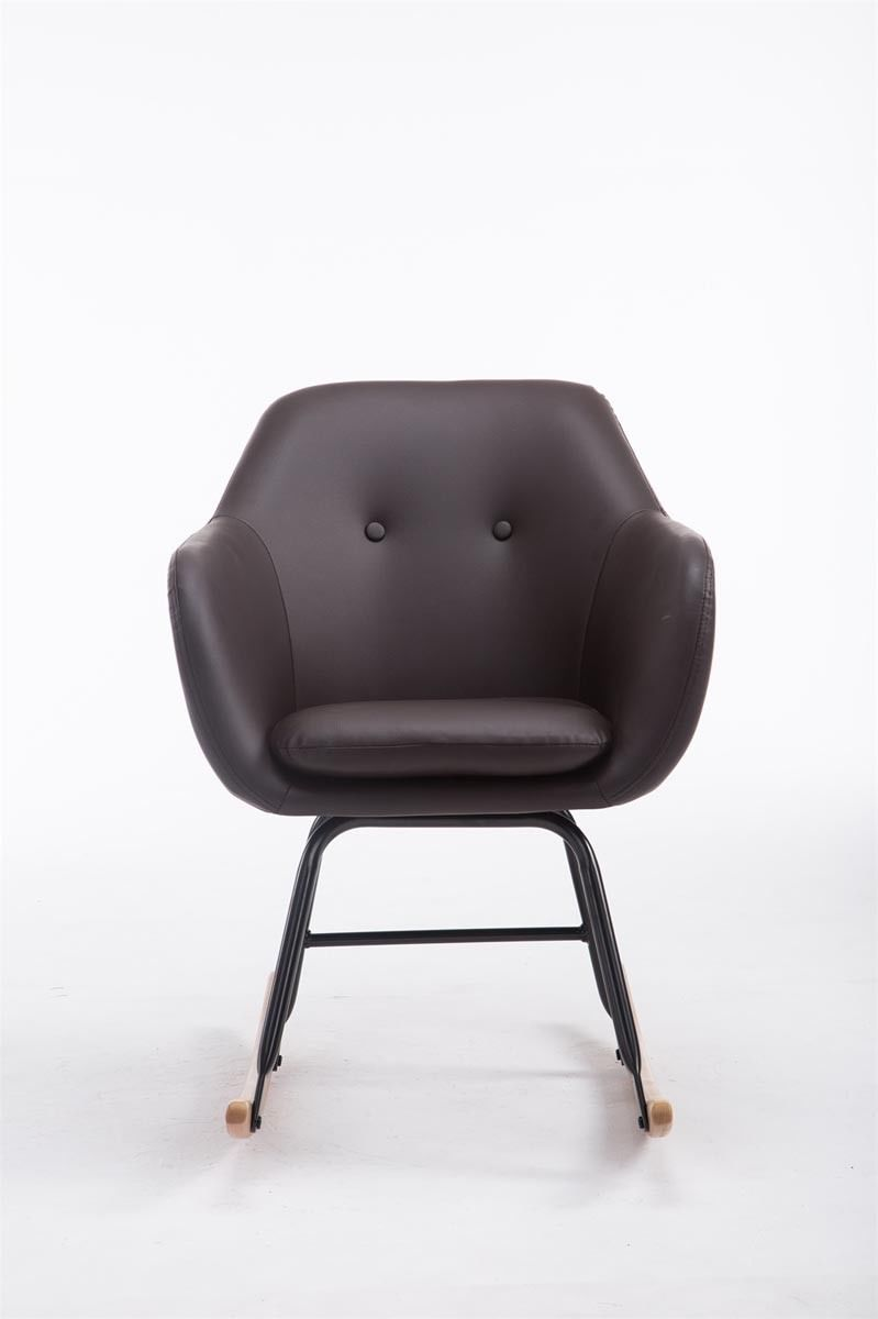 Bezaubernd Relaxsessel Modern Design Referenz Von Perfect Awesome Braun Kunstleder Korbsessel Holzkufen With
