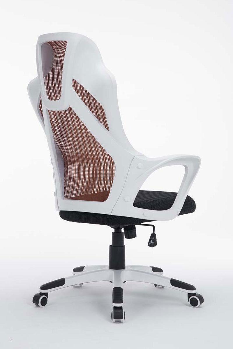 Bürostuhl Weiß Braun