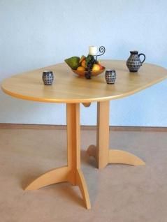 Esstisch oval Buche natur Küchentisch Esszimmertisch Tisch Holztisch günstig neu