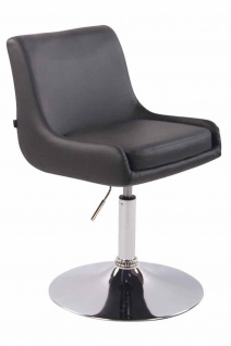 2 x Esszimmerstühle grau Kunstleder Stuhlset Küche drehbar design modern neu