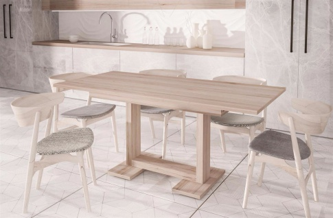 esstisch hell g nstig sicher kaufen bei yatego. Black Bedroom Furniture Sets. Home Design Ideas