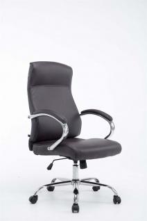 XL Chefsessel 210 kg belastbar braun Bürostuhl hochwertig für schwere Personen