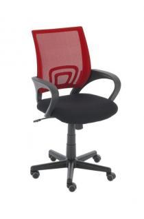 Bürostuhl rot Drehstuhl Schreibtischstuhl Jugend Kinder günstig preiswert neu