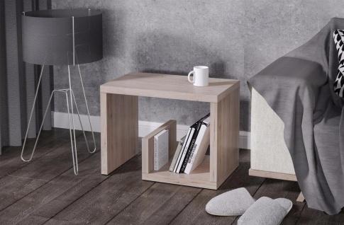 Beistelltisch San Remo hell Beitisch Sofatisch hochwertig modern design günstig