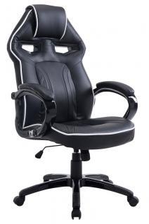 XL Bürostuhl 150 kg belastbar schwarz Chefsessel modern design hochwertig design