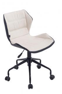 Bürostuhl creme Stoffbezug Bürosessel robust günstig preiswert Chefsessel design