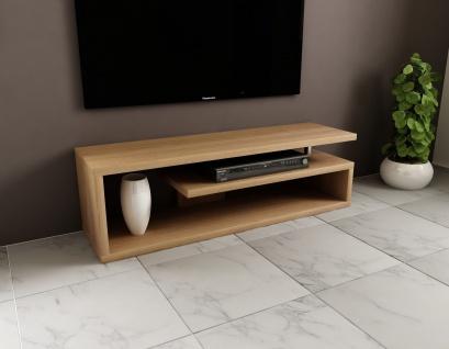 Fernsehregal Lowboard edler Fernsehtisch design günstig modern Hochglanz 160 cm
