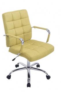 Bürostuhl grün bis 120 kg belastbar Stoffbezug Drehstuhl modern design neu