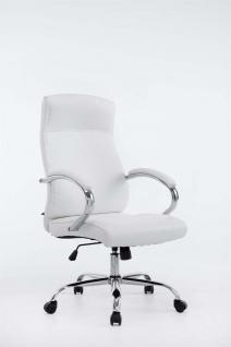XL Chefsessel 210 kg belastbar weiß Bürostuhl hochwertig für schwere Personen