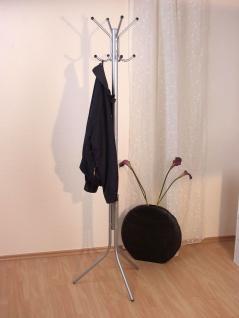 Kleiderständer alufarben Jackenständer Garderobenständer modern design günstig