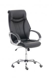 XXL Bürostuhl schwarz 150 kg belastbar Chefsessel Kunstleder stabil hochwertig - Vorschau 1