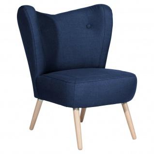 Retro Sessel Flachgewebe Einzelsessel Wohnzimmer Loungesessel Vintage design NEU