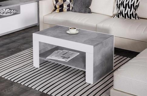 Couchtisch beton g nstig sicher kaufen bei yatego for Designer couchtisch beton