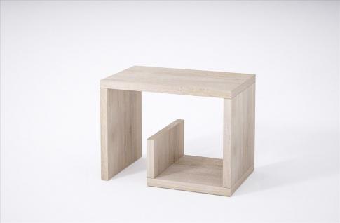 Beistelltisch Sonoma Beitisch Nachttisch Sofatisch hochwertig modern design