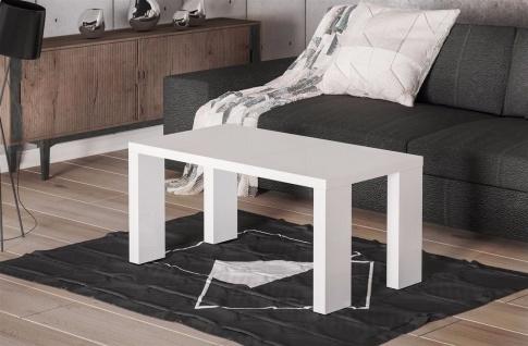 edler Couchtisch Hochglanz weiß moderner Sofatisch design Wohnzimmer günstig neu