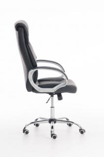 XXL Bürostuhl schwarz 150 kg belastbar Chefsessel Kunstleder stabil hochwertig - Vorschau 3