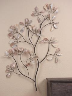 Wanddekoration Zweig Wanddeko Dekoration Deko Wandbehänge Glas Perlmutt Baum