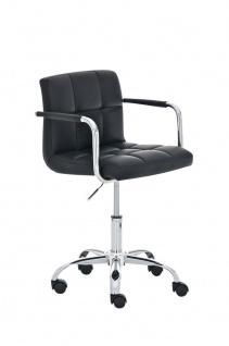 Bürostuhl bis 120 kg belastbar schwarz Drehstuhl Schreibtischstuhl modern design