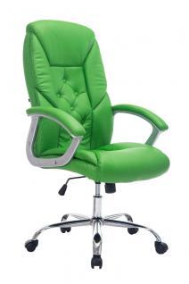 XXL Chefsessel grün Bürostuhl stabil belastbar hochwertig modern exklusiv neu