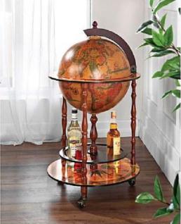 Minibar Globus Weltkugel Standdeko Bar Hausbar Globusbar Rollbar günstig neu
