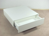 Couchtisch weiß Tisch Wohnzimmertisch Sofatisch Schubkasten design modern neu