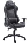 XL Bürostuhl 150 kg belastbar schwarz grau Chefsessel Zocker Gamer Gaming neu