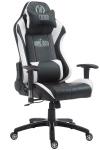 XL Bürostuhl 150 kg belastbar schwarz weiß Chefsessel Zocker Gamer Gaming